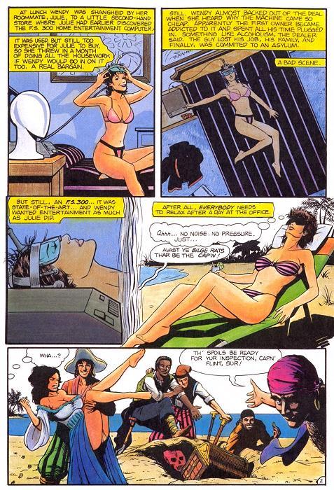 Tg комиксы превращение в девушку