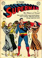 Flowers of Tiresias Superman Cover